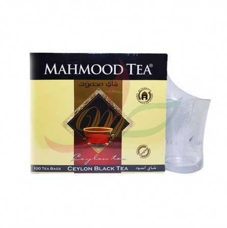 Thé noir Ceylan (en sachets) Mahmood x100 - tasse offerte