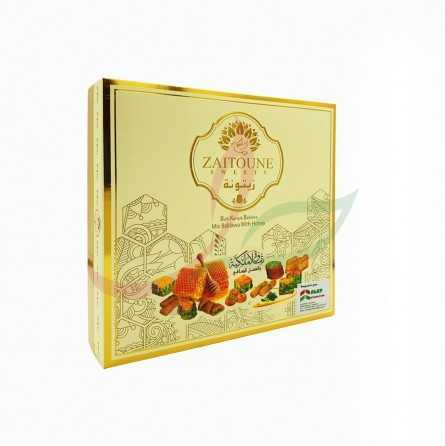 Mixed baklava with honey Zaitouna 500g