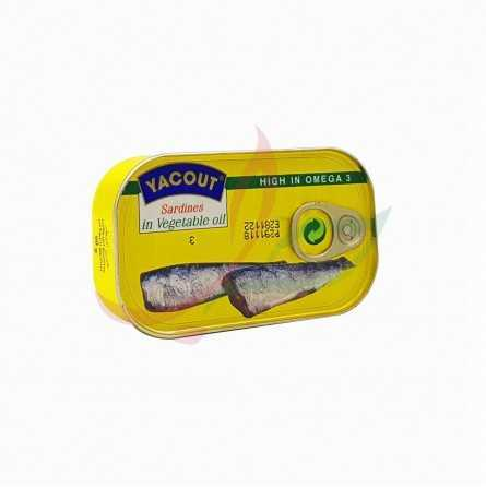 Sardine in oil Yacout 125g