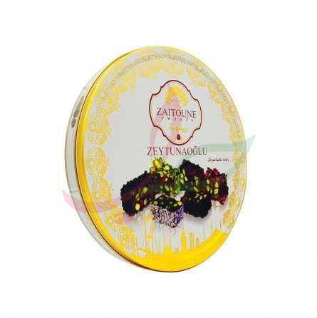 Assortiment loukoum (raha) aux pistaches Zaitouna 650g
