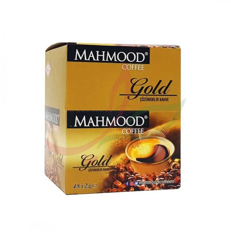 قهوة سريعة التحضير محمود الذهبية 48 ظرف