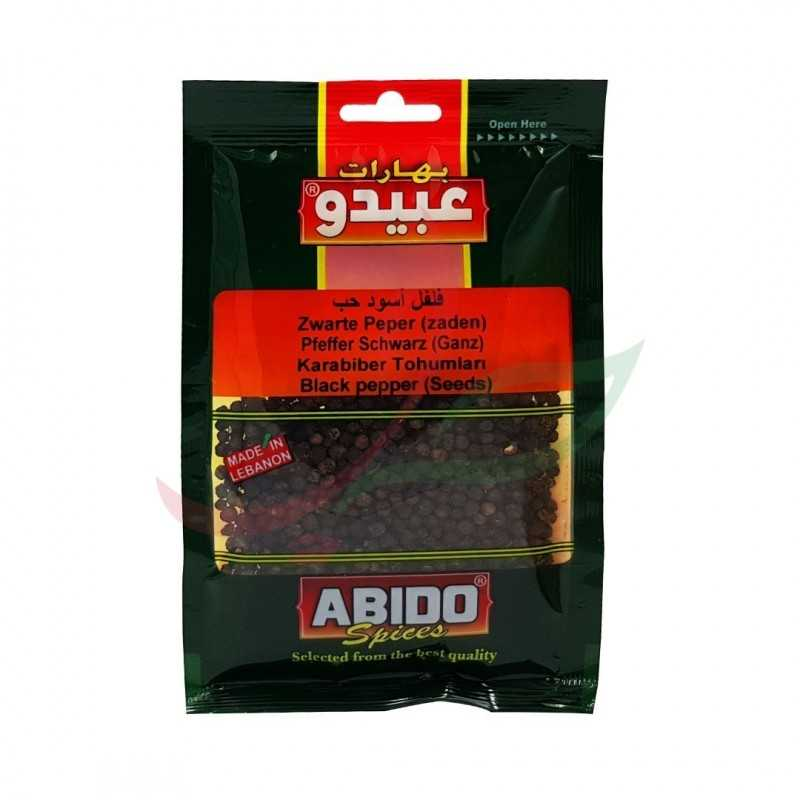 Whole dark pepper Abido 50g