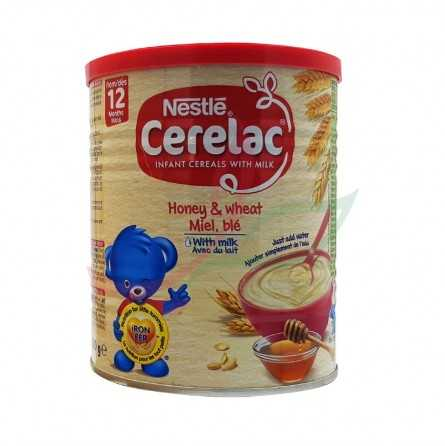 Cerelac wheat & honey with milk Nestle 400g