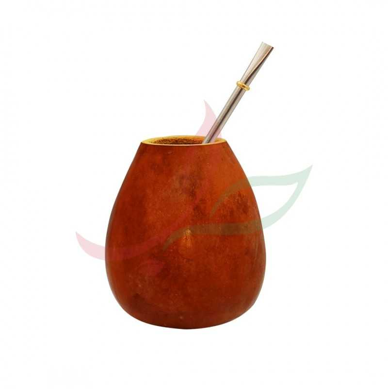 Simple traditional calabash + bombilla