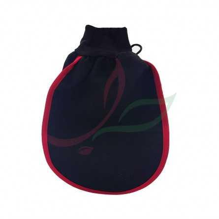 gant noir exfoliant Najel