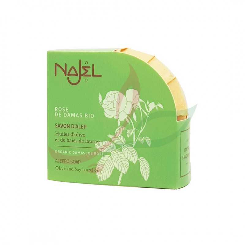 Aleppo soap with damask rose Najel 100g