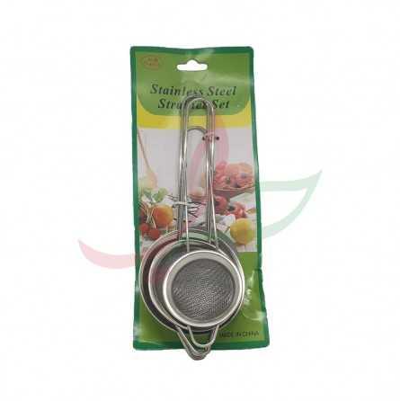 Tea strainer x3