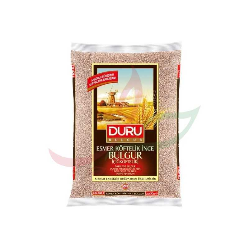 Boulgour fin brun Duru 1 kg