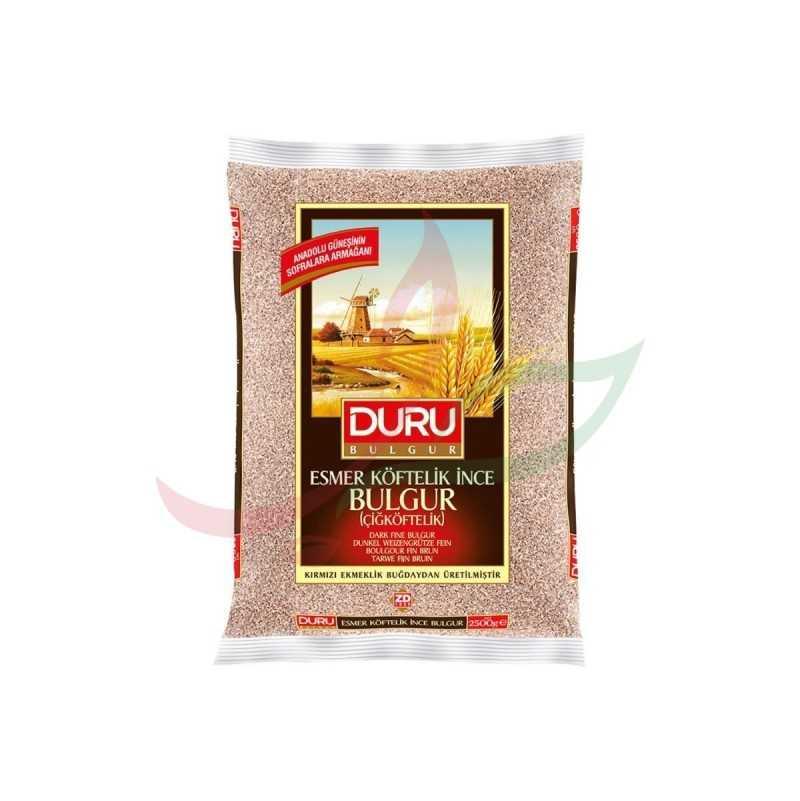Brown fine bulgur Duru 1 kg