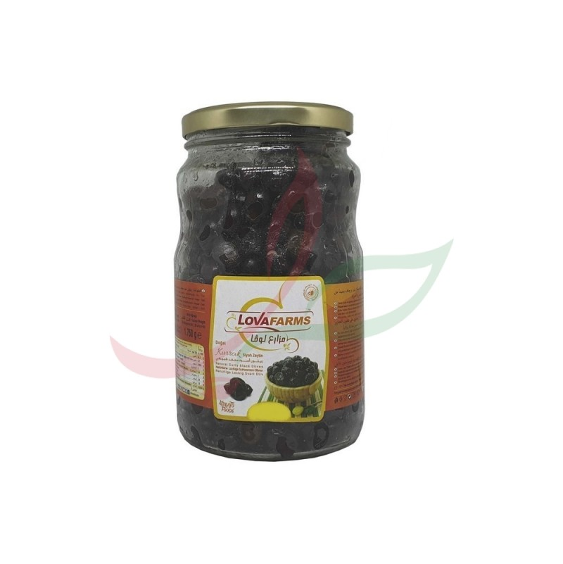 Olives noires Lova 450g