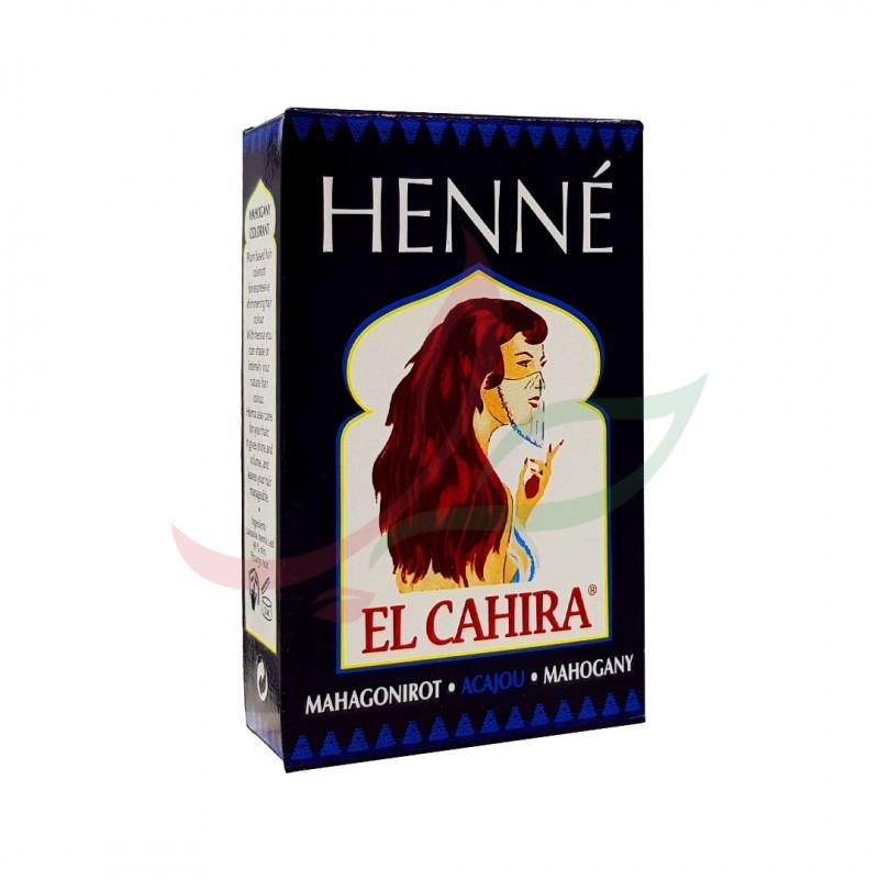 Henné elcahira (couleur acajou) Hennedrog 150g