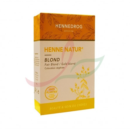 Henné blond (couleur blond) Hennedrog 150g