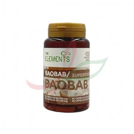 Baobab en capsules The Elements 250g
