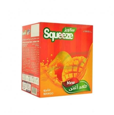 Jus de mangue (poudre instantanée) Squeez 12x30g