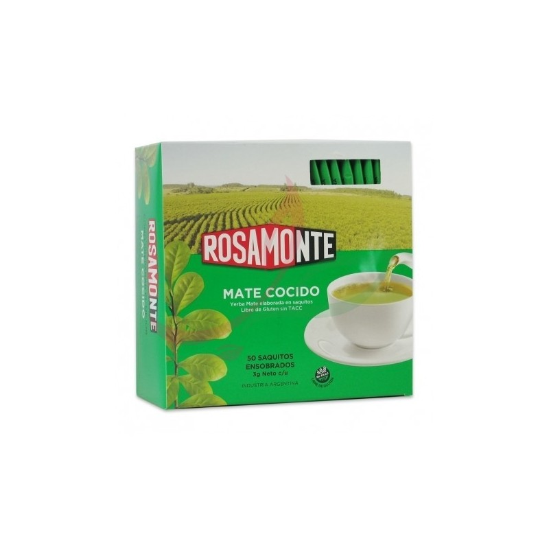 Yerba maté (en sachets) Rosamonte x50