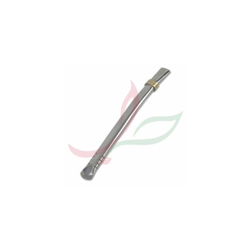 Bombilla (paille à maté) filtre plat 19cm