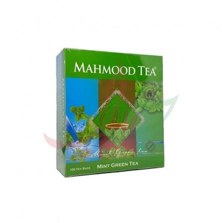 Thé vert à la menthe (en sachets) Mahmood x100