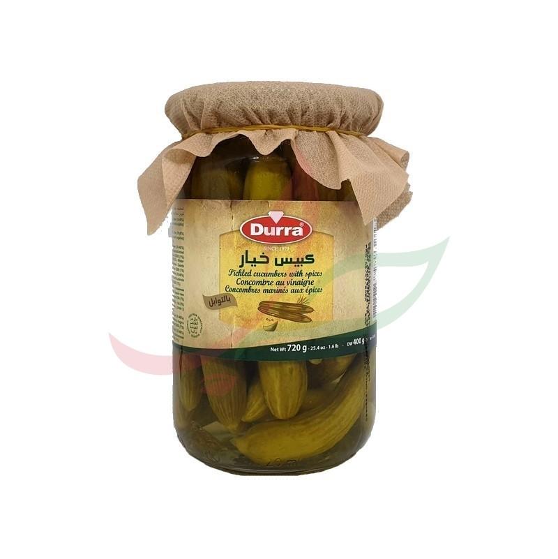 Concombres marinés aux épices Durra 720g