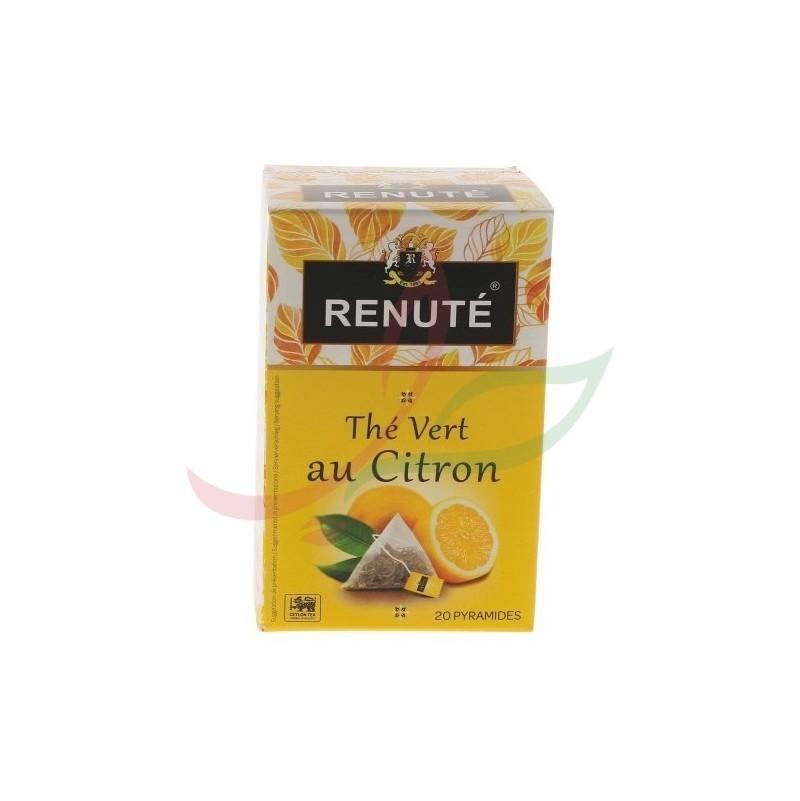 Thé vert au citron (en sachets) Renuté x20