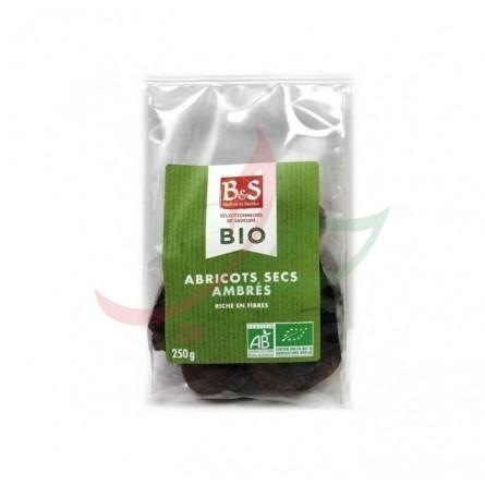 Abricots secs ambrés bio B&S 250g