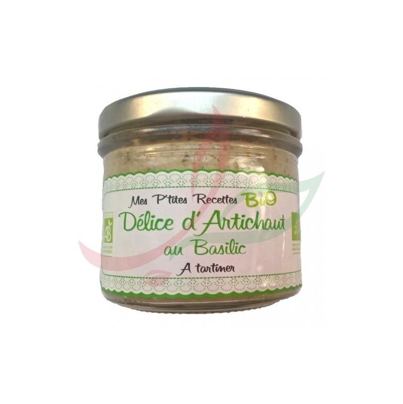 Tartinable artichaut basilic BIO 100g