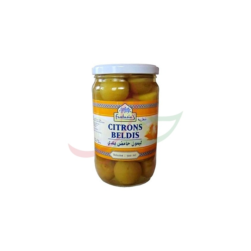 Citrons confits Beldis Fantasia 390g