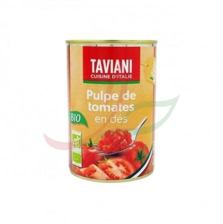 Pulpe de tomates en dés BIO 400g