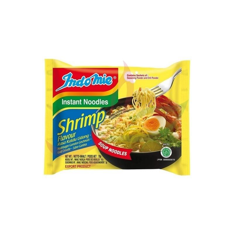 Indomie nouilles instantanées (pack) - crevette 5x70g