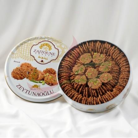 Barazek (biscuit fin au sésame & éclat de pistache) Zaitouna 200g