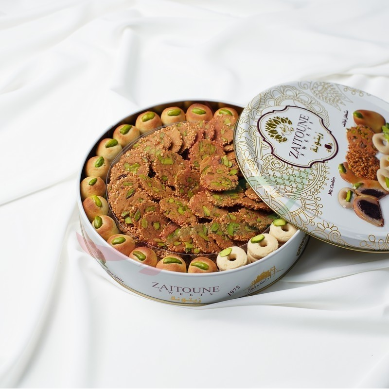 "Biscuit sec ""nawachif"" assortiment Zaitouna 250g"
