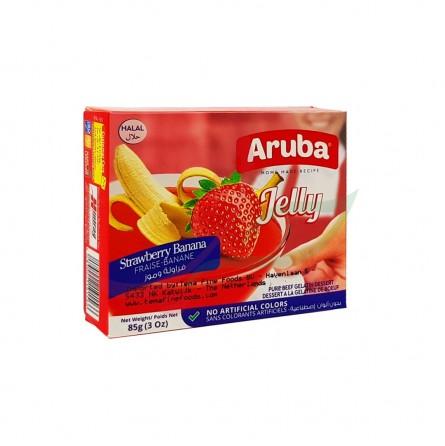 Jelly Fraise Banane Aruba 85g