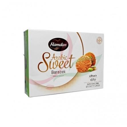 Barazek (biscuit fin au sésame & éclat de pistache) Hamdan 350g