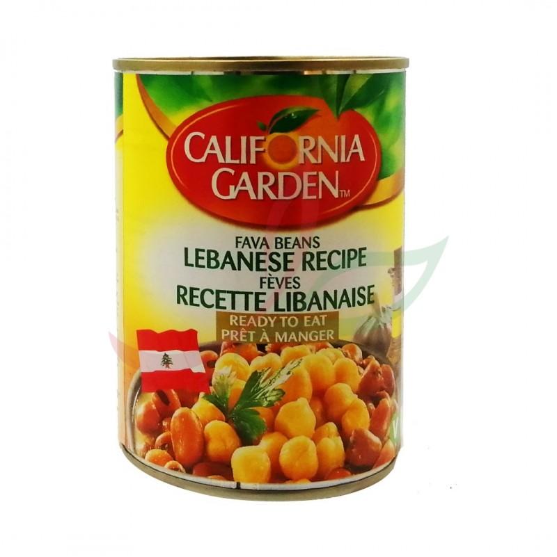 Foul medammas (fèves cuites) recette libanaise California 400g