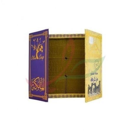 Savon d'Alep Araysi violet Malika 6x125g