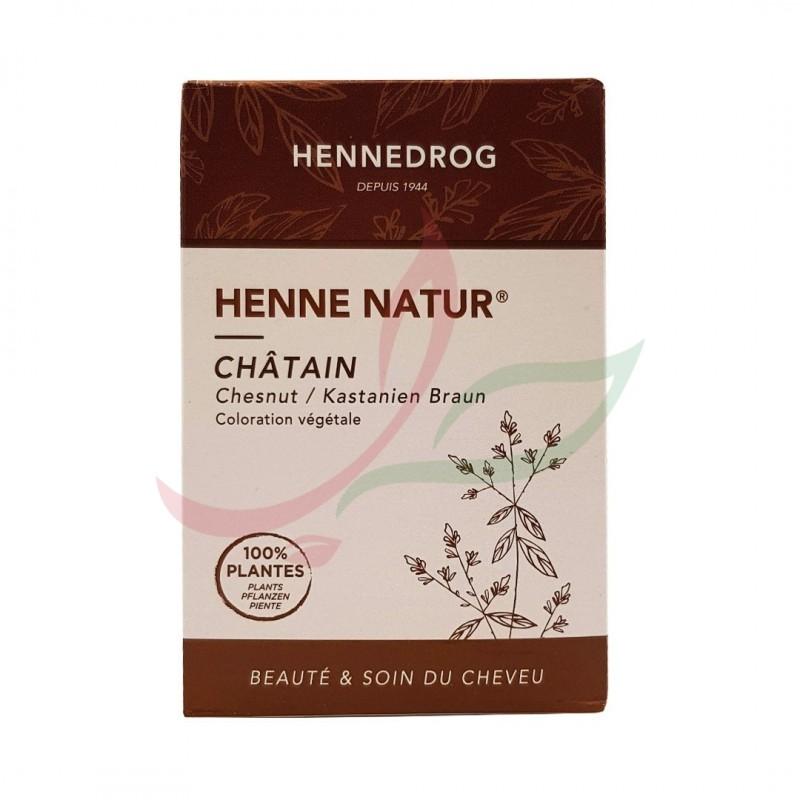 Henné nature (couleur châtain) Hennedrog 150g