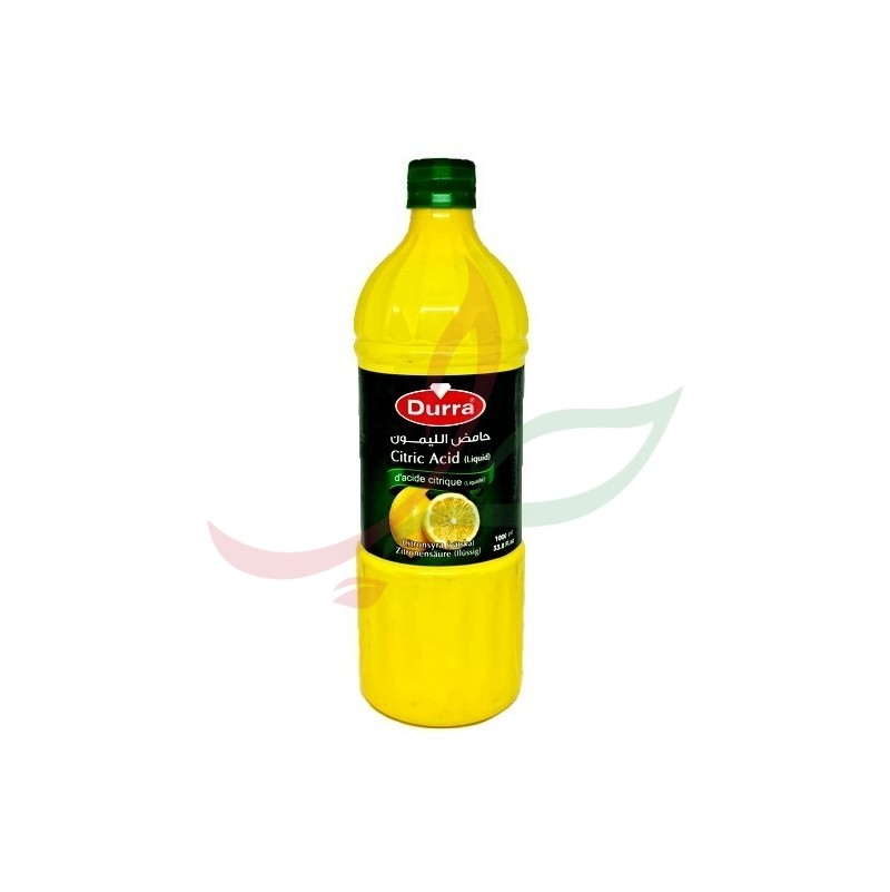 Acide citrique liquide Durra 1L