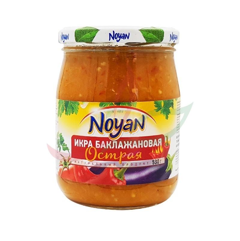 Caviar d'aubergine piquant - baba ghanouj Noyan 530g