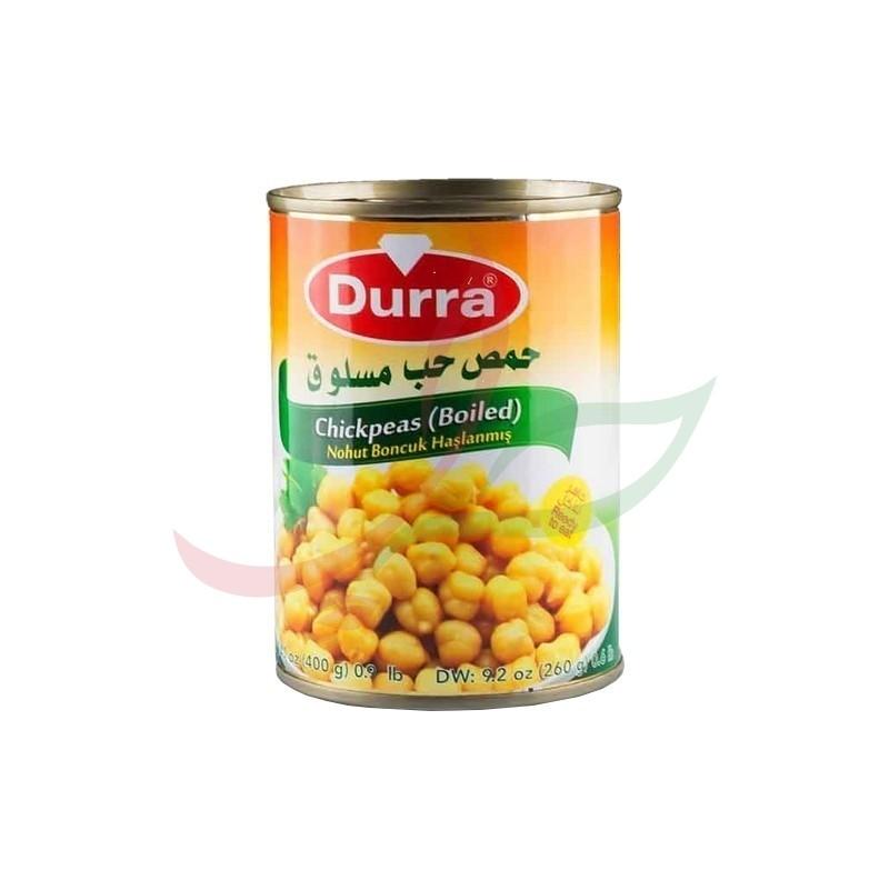 Pois chiches cuits Durra 400g