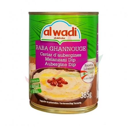 Baba ghanouj - caviar d'aubergines Alwadi 385g