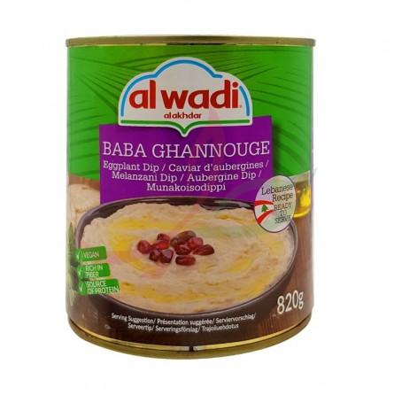 Baba ghanouj - aubergine caviar Alwadi 820g