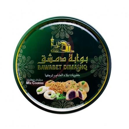 """Biscuits secs """"nawachif"""" assortiment Bawabet Dimashq 500g"""