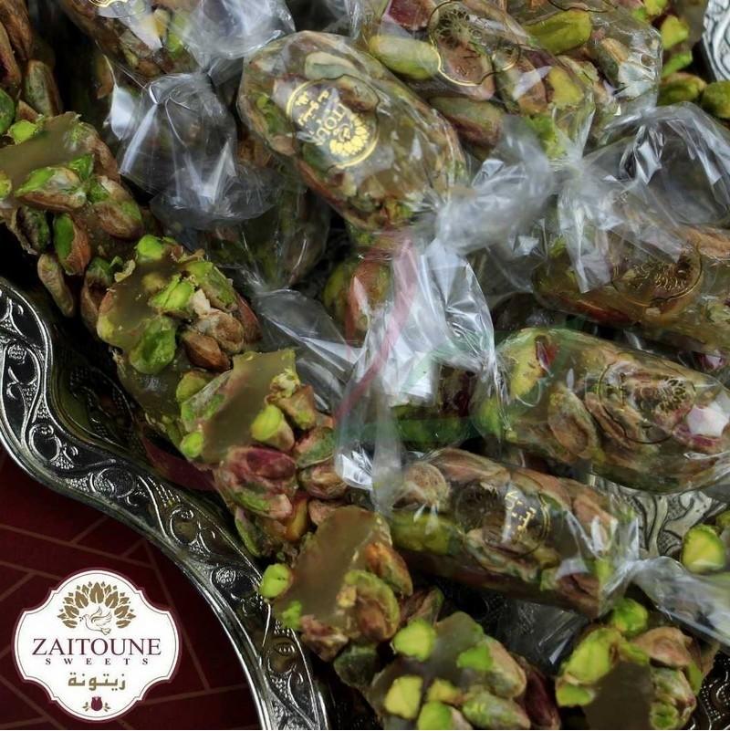 Royal Loukoum (raha) with pistachios Zaitoune 250g