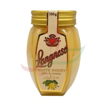 Miel blanc Langnese 500g