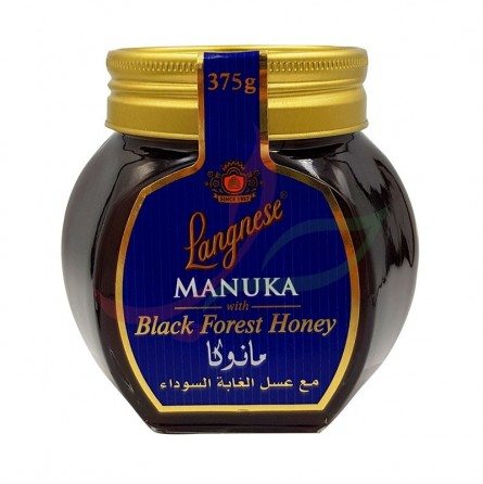Miel Manuka forêt noire Langnese 375g