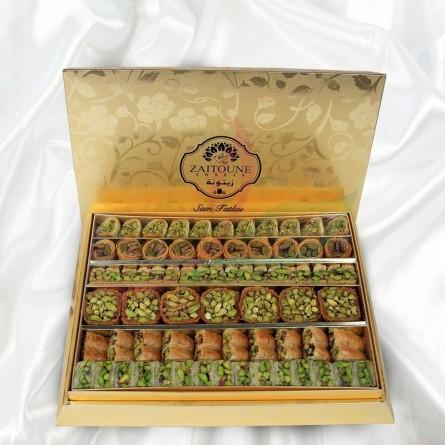 Baklava mixte royal Zaitouna 750g