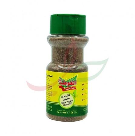 Poivre noir moulu (pot) Algota 65g