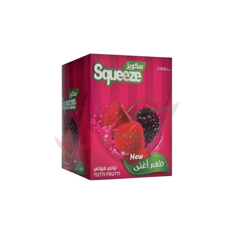 Jus tutti frutti (poudre instantanée) Squeeze 12x30g