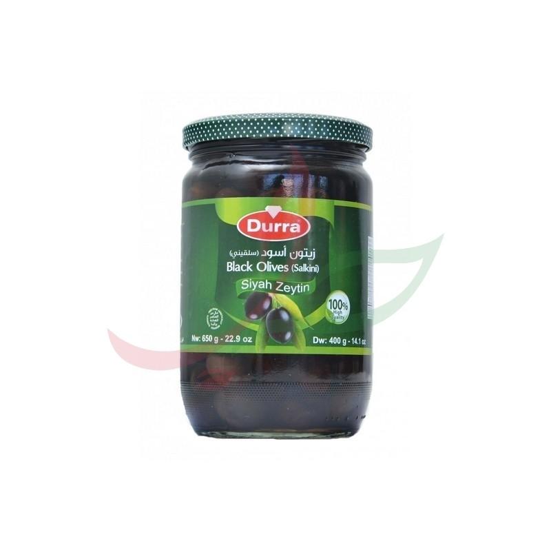 Olives noires (salkini) Durra 720g