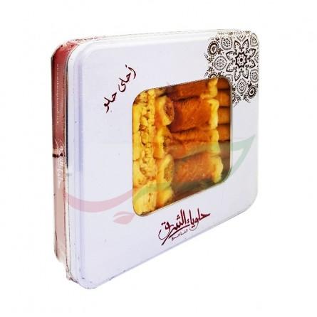 Lebanese Baklava (metal tin) Alcharq 1kg