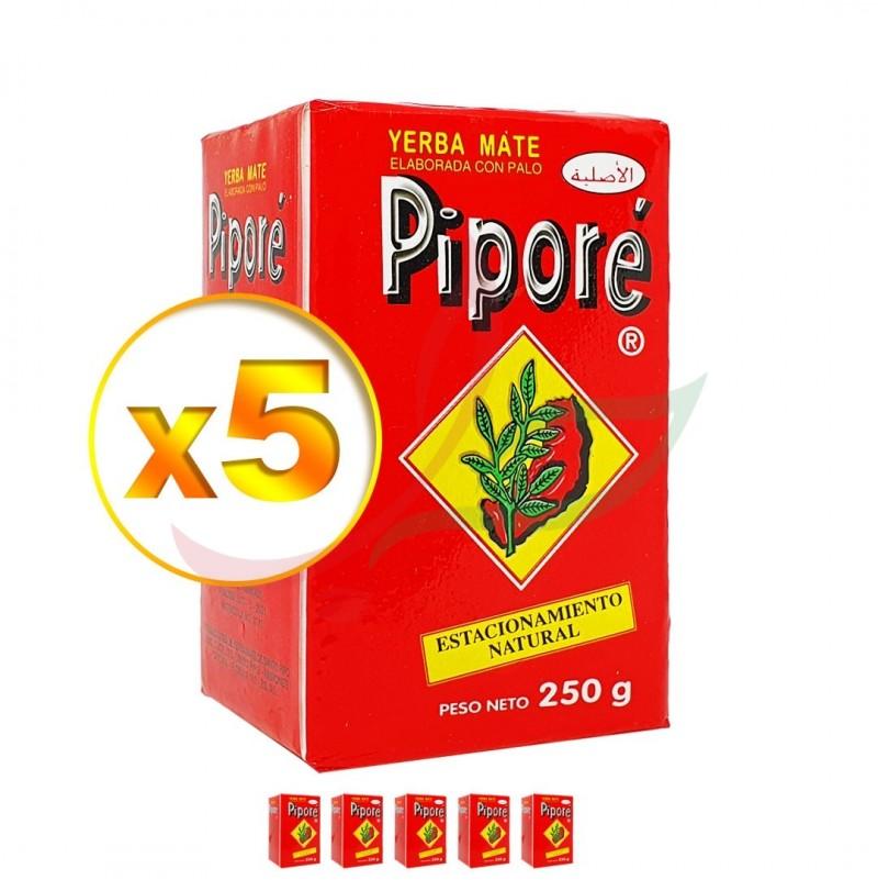 Yerba Maté (lot de 5) Piporé 250g